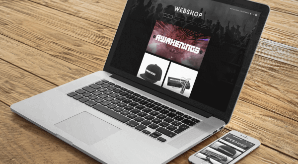 awakenings merchandise webshop