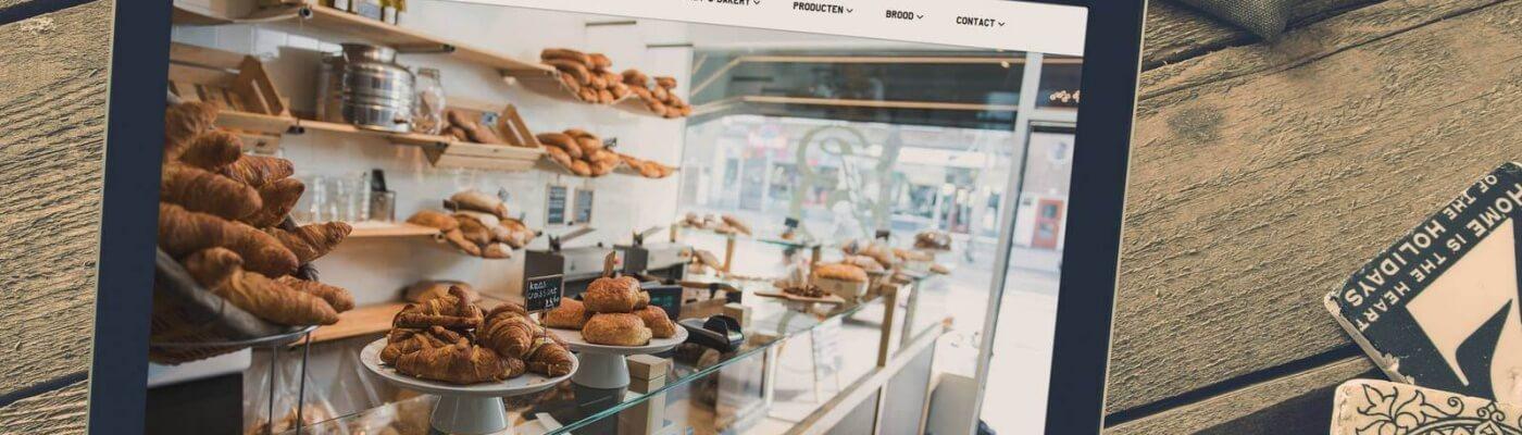 website Jordy's Bakery Rotterdam