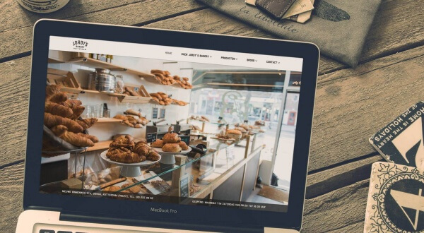 website Jordy's Bakery Rotterdam